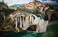 Waterfall of Jajce 1903.jpg