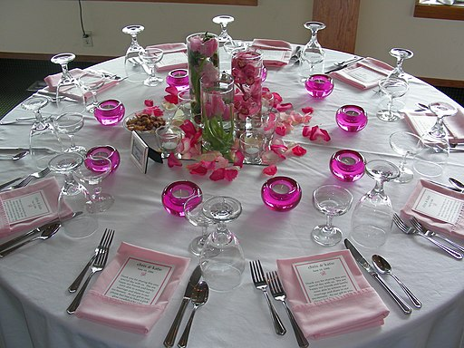 Wedding Banquet setting