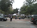Wednesday at Square NOLA Mch 2010 Ben Franklin across Camp St.JPG