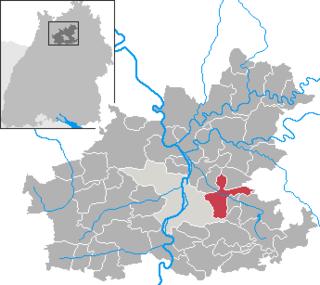 Weinsberg Place in Baden-Württemberg, Germany