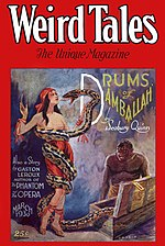 Weird Tales cover image for March 1930