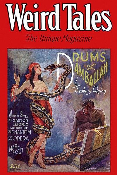 Weird Tales March 1930