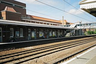 Welwyn Garden City railway station Railway station in Hertfordshire, England