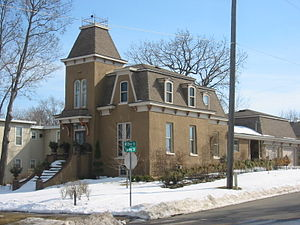 West Second Street Residential Historic District   The Strauss House, Built  In 1875 In The