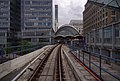 West India Quay DLR station MMB 01.jpg