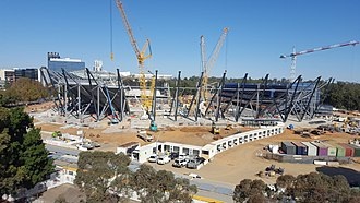 Western Sydney Wanderers FC - Western Sydney Stadium, future home ground.