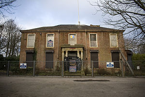 Whitefield, Greater Manchester - Dilapidated former Whitefield Town Hall