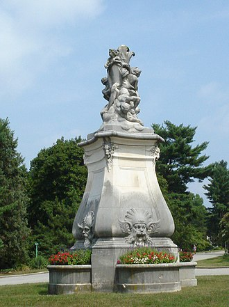 Whitemarsh Hall - Image: Whitemarsh statue