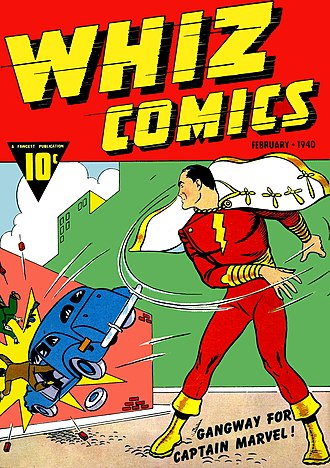 Golden Age of Comic Books - Image: Whiz Comics No 02