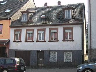 Erich Honecker - Honecker's childhood home in Wiebelskirchen