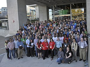WikiConference North America 2016 group photo
