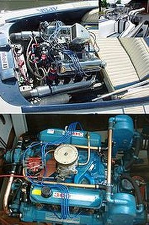 Ford FE engine - Examples of FEs installed in boats