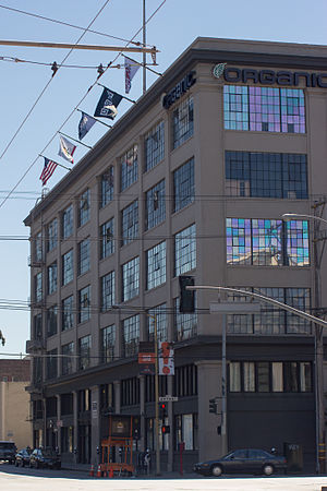 Wired (magazine) - Wired Building location in San Francisco