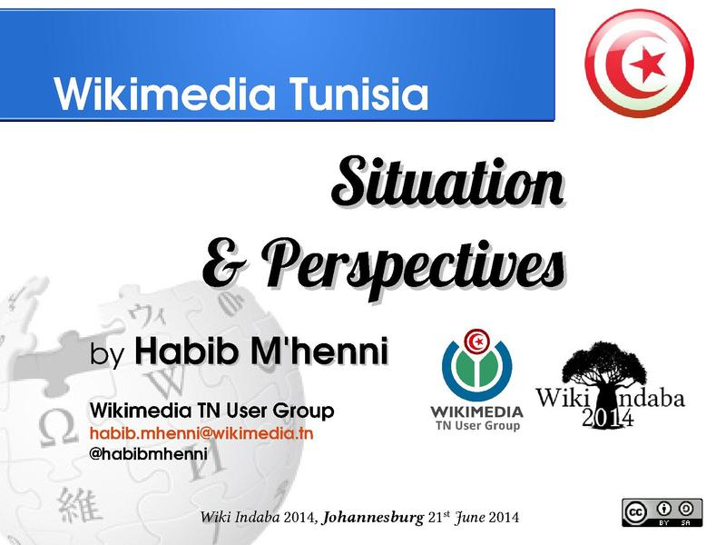 File:Wikimedia TN situation and perspectives, Wiki Indaba 2014.pdf