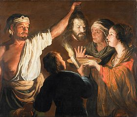 The Executioner with the Head of John the Baptist