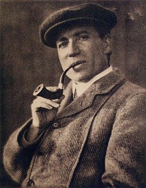 W. H. Davies - Davies in 1913 (by Alvin Langdon Coburn)