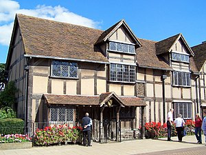 1847 in the United Kingdom - 16 September: Shakespeare's birthplace is bought for preservation