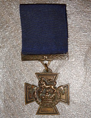 William Johnstone (VC) - Johnstone's Victoria Cross