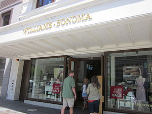 The Williams-Sonoma flagship store in Union Sq...