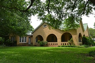 National Register of Historic Places listings in Wharton County, Texas - Image: Willie Banker Jr. House, Wharton, TX