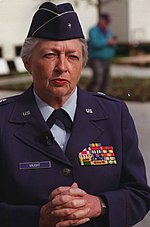 Gen Vaught http://en.wikipedia.org/wiki/Women_in_Military_Service_for_America_Memorial