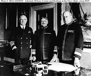 Henry Braid Wilson - Henry Braid Wilson (left), circa 1919