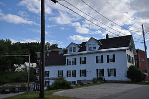 National Register of Historic Places listings in Franklin County, Maine - Image: Wilton ME Bass Boarding House