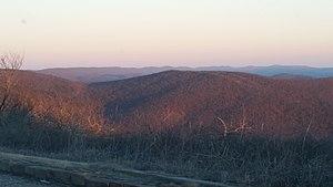 Wilton Mountain - Wilton Mountain, Le Flore county, Oklahoma.