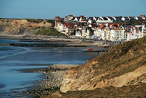 English: Coastal view of the touristic town Wi...