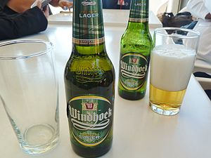 Namibia Breweries Limited - Bottles of Windhoek Lager