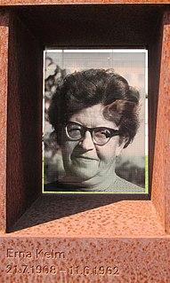 Erna Kelm Died at the Berlin wall