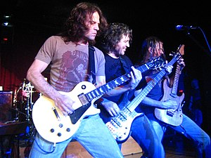 Winger (band) - Winger in March 2007. L–R: John Roth, Kip Winger, Reb Beach.