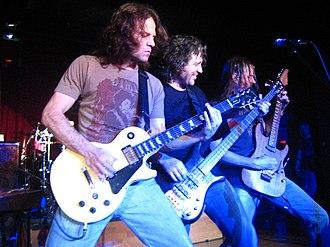 Winger (band) - Winger in March 2007. L–R: John Roth, Kip Winger, Reb Beach.