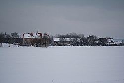Winter view to Valeč, Třebíč District.jpg