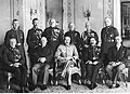 Wizyta członków nowego zarządu straży pożarnej u marszałka Józefa Piłsudskiego w Belwederze (22-253).jpg