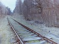Wolfsschanze railroad toward Rastemburg 2002.JPG