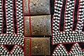 Woman's jacket detail, Lahu Shi Ba Lan people, Northern Thailand, collected in 1986 - Ethnological Museum, Berlin - DSC01403.JPG