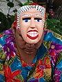 Woman with Mask - Granada - Nicaragua (31908077636) (2).jpg