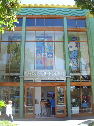 Downtown Disney - Wonderground Gallery retail store in Downtown Disney