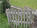 Wooden Kissing Gate, St. Bartholomew's Churchyard - geograph.org.uk - 578941.jpg