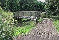 Wooden bridge over stream running through Springhead Park - geograph.org.uk - 507308.jpg