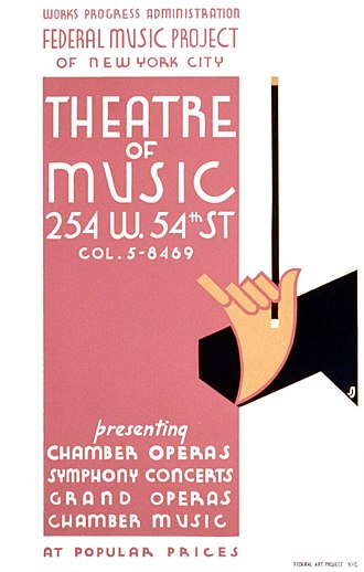 Studio 54 - WPA Theatre of Music