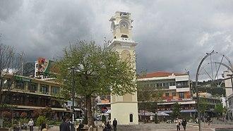 Xanthi - Xanthi's clocktower.