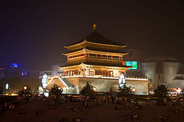 Xi'an - Bell tower.jpg