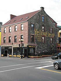 Yellow Belly building corner of George St and Water St.JPG