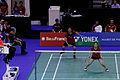Yonex IFB 2013 - Eightfinal - Kenichi Hayakawa - Misaki Matsutomo — Selena Piek - Jacco Arends 06.jpg