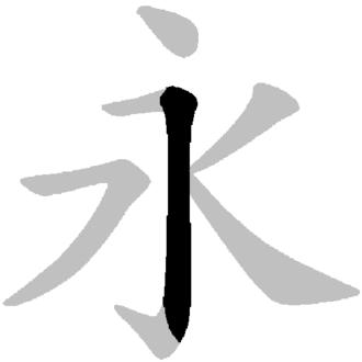 Radical 2 - Image: Yongzi Bafa 3