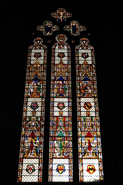 File:York Minster stained glass window.jpg