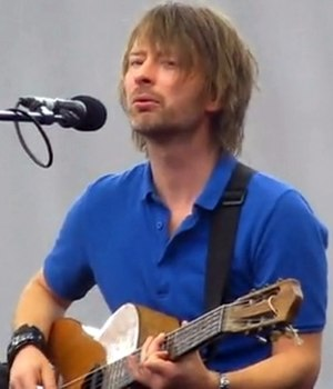 "True Love Waits (song) - Yorke at the 2009 Latitude Festival, where he performed ""True Love Waits"" solo on acoustic guitar"