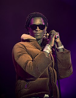 Young Thug American rapper, singer, and songwriter from Georgia